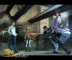 yellow squad collab by hendryzero