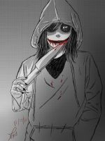 Jeff the Killer (Girl Version) by Vheronnica