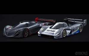 Mazda RX-792P + Furai by The-IC
