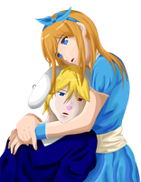 Art Trade Alice and Alex by Crafty-lil-vixen