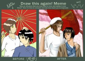 Before and After Meme: Giripan by Aloof-Star