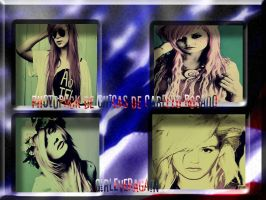 Photopack de chicas de cabello rosado by GirlEverAgain