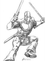 Deathstroke Convention by BrianAtkins