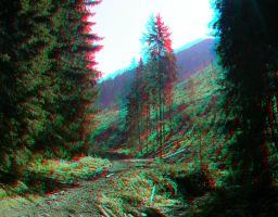 After the Avalanche 3D anaglyp by yellowishhaze