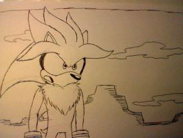 Silver The Hedgehog by AllenGutairHero