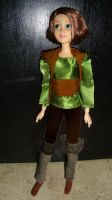Rapunzel as Hiccup by DramaDollLover
