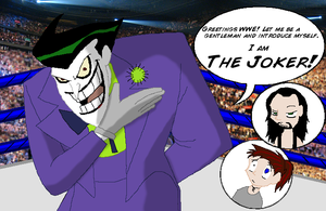 Joker in the WWE? by BluecheetahX3