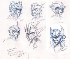 TFP Design Autobot Femme Faces by BHS-ArchetypeRex