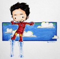 Tiny Tony :) by reb-chan