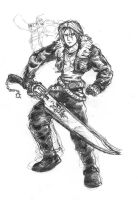 FFVIII-Squall Leonhart by arvalis