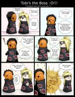 Tobi's the Boss by Kirara17