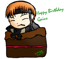 Hbd Gaius! by SniperGYS