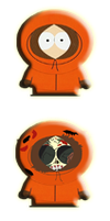 kenny south park start orb by jeffrockr