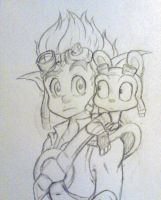 Jak And Daxter by QuackingMoron