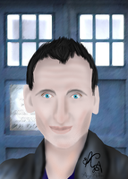 Ninth Doctor by Angie-Andrea