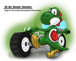 Day 8: Favorite Animated Character by julXart