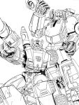 G1 Sideswipe And Sunstreaker Inks by BDixonarts