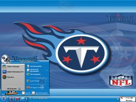 Tennessee Titans by graffitimaster