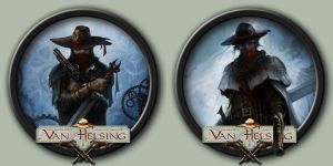 The Incredible Adventures of Van Helsing Icons by kodiak-caine