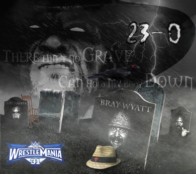 WWE WrestleMania 31: Wyatt Family's Graveyards by djrunza