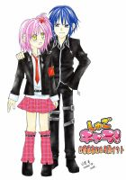 Shugo Chara - Amu and Ikuto by gumokohiiragizawa