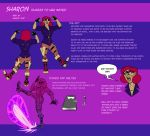 Second Draft OCT - Sharon Reference Sheet by Angry-Langman