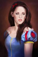 Kristen Stewart as Snow White by MartaDeWinter