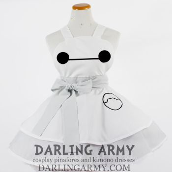 Baymax Big Hero 6 Cosplay Pinafore by DarlingArmy