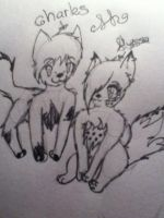Charlie and me :3 by goicesong1