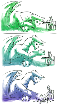 Chess with Dragons by Sarcallow