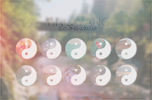 Yin Yang [ICO-PNG-AVATAR] by tutorialeslali