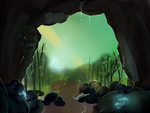 The Cave by Nine-doodles