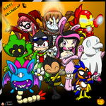 Group Halloween Pic by G-Bomber