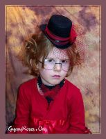 MiniGoth in Hat and Necklace 2 by che4u