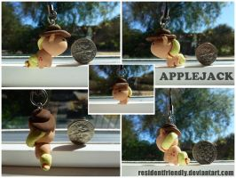 Applejack Keychain by Residentfriendly