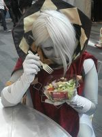 Ghirahim's salad day. by MegaJ1989