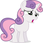 VIP -- Sweetie Belle, Yer Gonna' Ketch Flies... by Drewdini