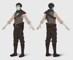 Costume Concept - Beginner Male by musegames