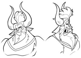 Lord Tirek - Bust Shots by secoh2000
