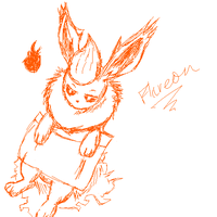 Flareon by omgtirgafr