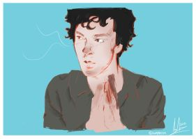 Sherlock: I just met a friend of yours. by superfizz