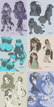 Sketchpages Commission 8 by Shalinka