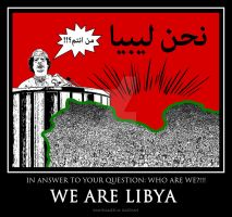 We are LIBYA by SoberHigh