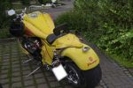 Yellow  Motorcycle by blueMALOU