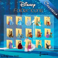 Disney Folder Icons - Cinderella by EditQeens