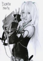 Misa Death Note by ShirubaaNeko