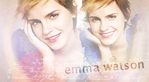 Beautiful Emma Watson by MissKPierce