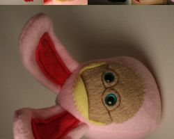 Ralphie in Pink Bunny Suit by Saint-Angel
