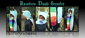 New Rainbow Dash Scoodie For Sale - SOLD by DexterousZombie