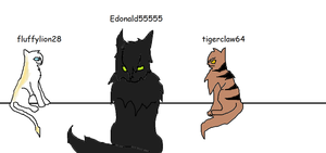 My friends and I as cats by tigerclaw64